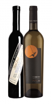 Mavrodafne Reserve Selected Barrels Limited Edition + Villa Melnik Orange Wine