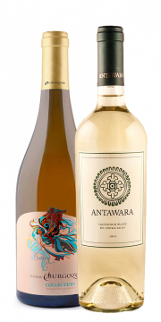 Burgozone Collection Barrel Fermented Chardonnay + Antawara Sauvignon Blanc