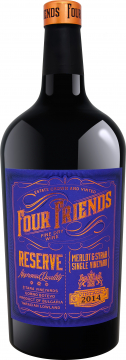 Four Friends Reserve Single Vineyard Merlot & Syrah