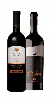 Prahova Valley Special Reserve Pinot Noir + Stallion Grand Blend