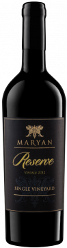 Maryan Chairman's Reserve Single Vineyard