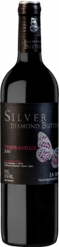 Silver Diamond Butterfly